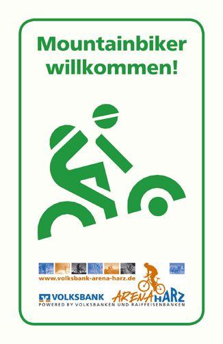 Mountainbiker willkommen!